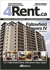 visit 4rent.ca to view apartment rentals