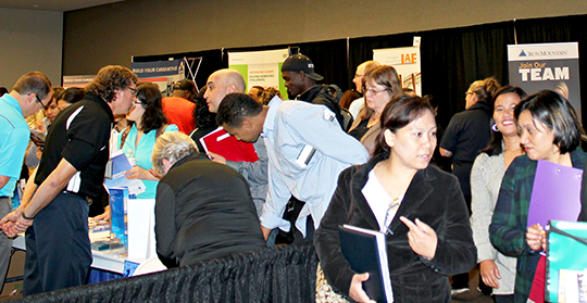 information on our upcoming career fairs and shows are here