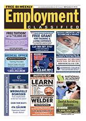 view our employment ads on employmmentclassified.ca